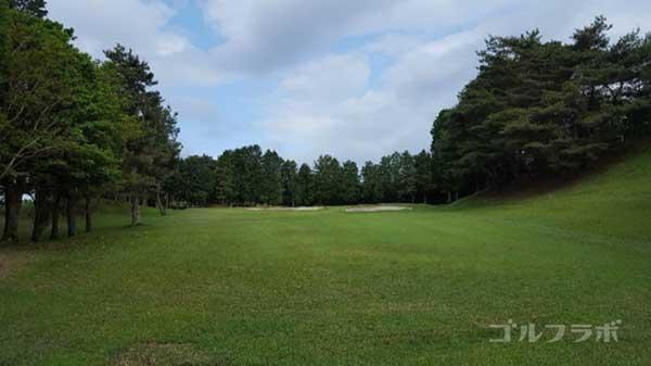 沼津ゴルフクラブの愛鷹2ホールのレディースティ