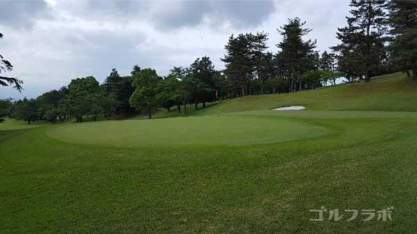沼津ゴルフクラブの愛鷹3ホールのグリーン