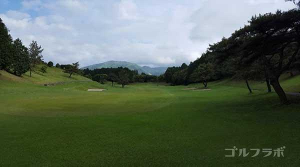 沼津ゴルフクラブの愛鷹4ホールのレディースティ