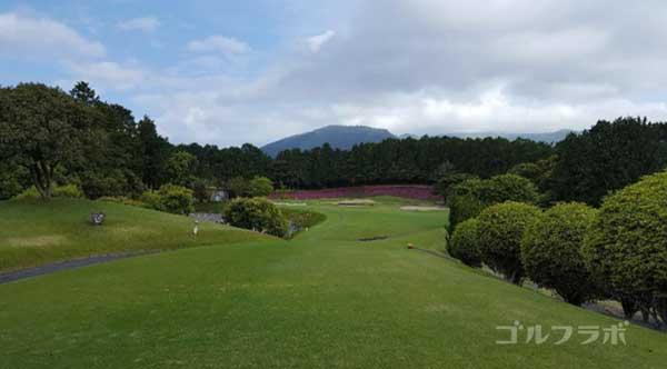沼津ゴルフクラブの愛鷹5ホールのティーグラウンド