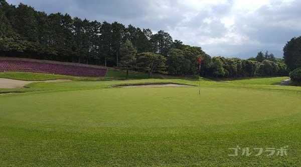 沼津ゴルフクラブの愛鷹5ホールのグリーン