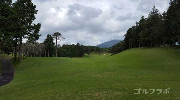 沼津ゴルフクラブの愛鷹9ホールのティーグラウンド