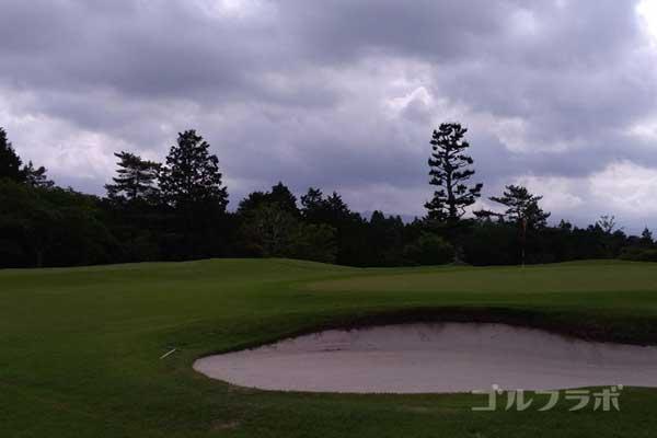 沼津ゴルフクラブの伊豆2ホールのグリーン