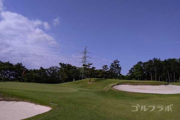 沼津ゴルフクラブの伊豆3ホールのグリーン