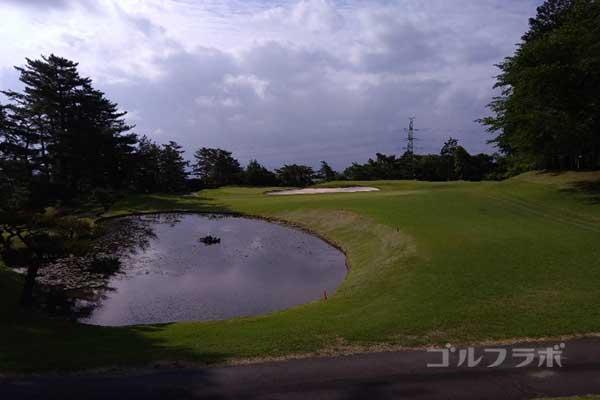 沼津ゴルフクラブの伊豆3ホールのレディースティ