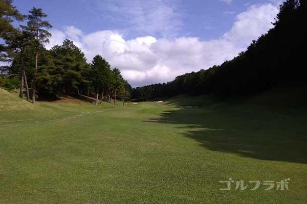 沼津ゴルフクラブの伊豆4ホールのレディースティ