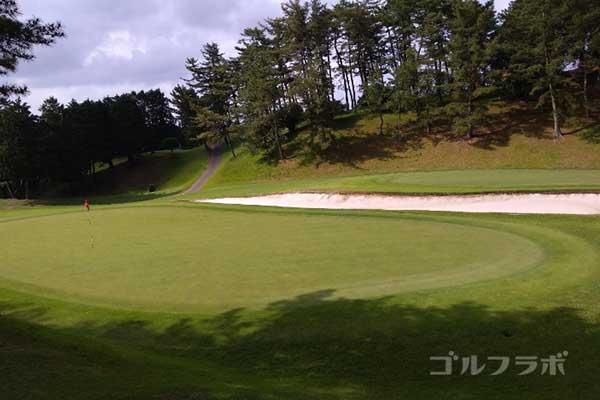 沼津ゴルフクラブの伊豆5ホールのグリーン