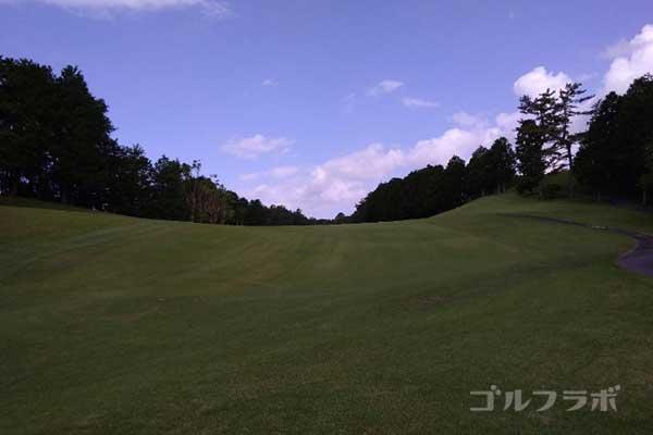 沼津ゴルフクラブの伊豆5ホールのレディースティ