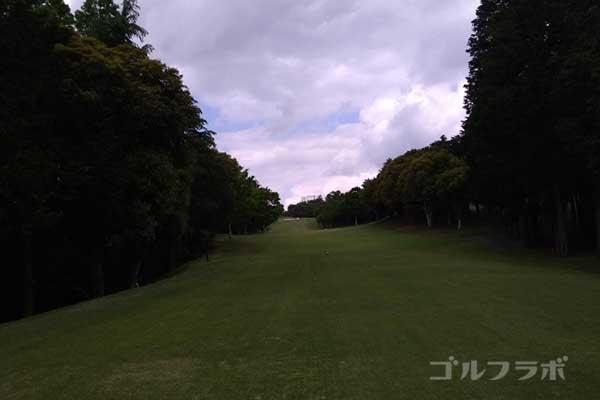 沼津ゴルフクラブの伊豆9ホールのティーグラウンド