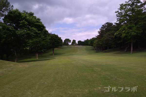 沼津ゴルフクラブの伊豆9ホールの2打目