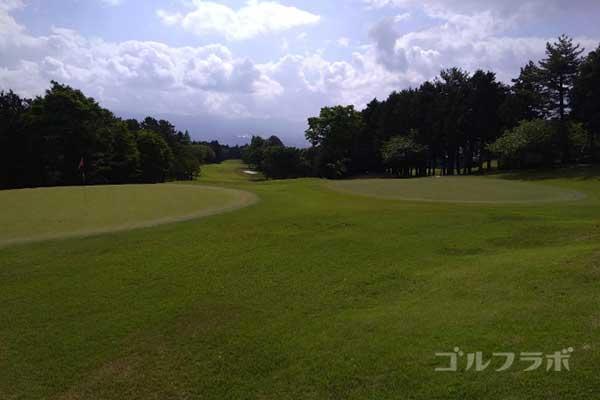 沼津ゴルフクラブの伊豆9ホールのグリーン