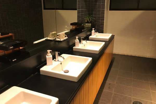 修善寺カントリークラブのトイレ