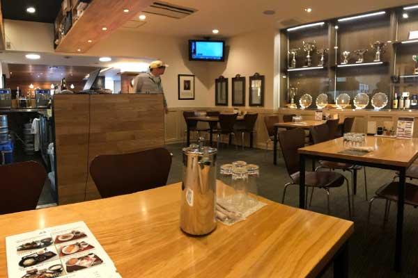 修善寺カントリークラブのレストラン