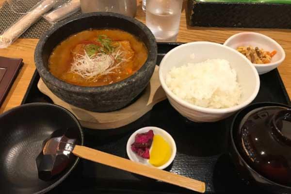 修善寺カントリークラブの麻婆豆腐