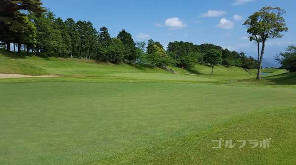 沼津ゴルフクラブの駿河4ホールのグリーン