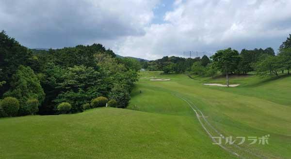 沼津ゴルフクラブの駿河4ホールのレディースティ