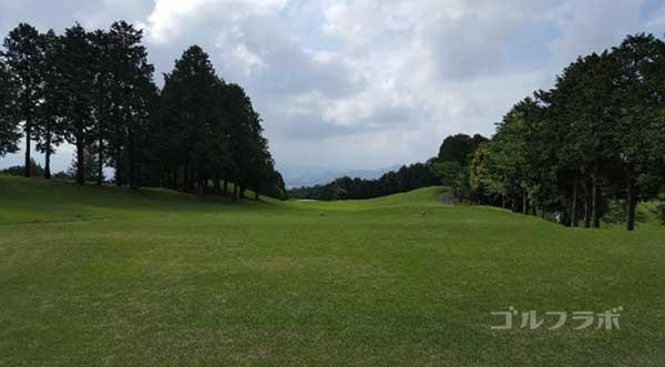 沼津ゴルフクラブの駿河5ホールのティーグラウンド