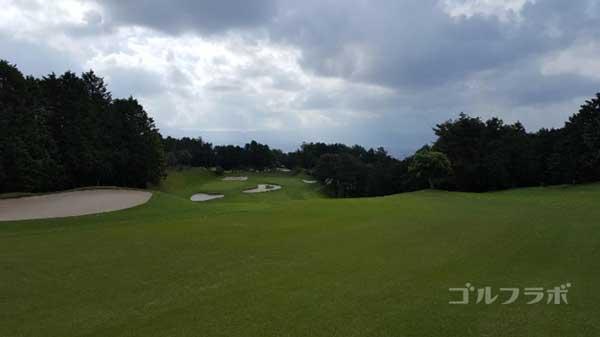 沼津ゴルフクラブの駿河5ホールの2打目