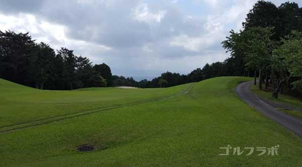 沼津ゴルフクラブの駿河5ホールのレディースティ