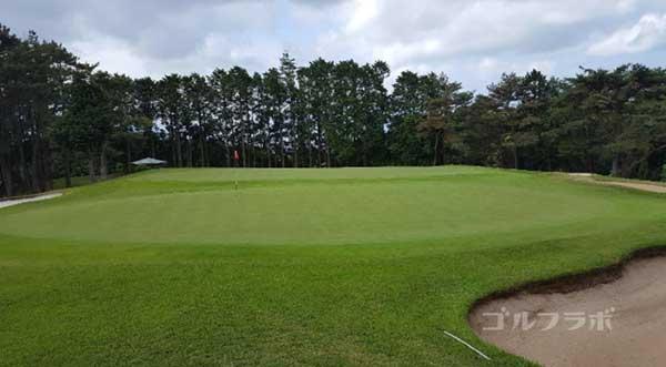 沼津ゴルフクラブの駿河7ホールの3打目