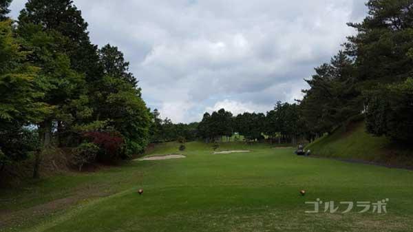 沼津ゴルフクラブの駿河8ホールのティーグラウンド