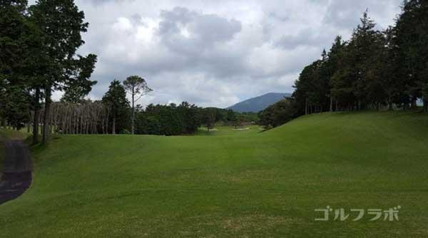 沼津ゴルフクラブの駿河9ホールのティーグラウンド