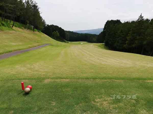 レンブラントゴルフ倶楽部御殿場の富士コース2番ホールのレディースティ