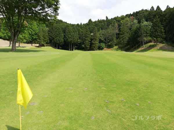 レンブラントゴルフ倶楽部御殿場の富士コース3番ホールの2打目