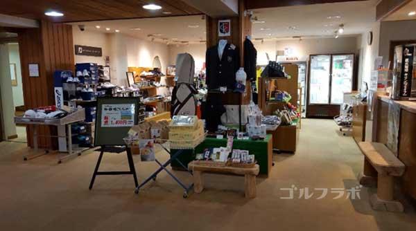富士カントリークラブの売店