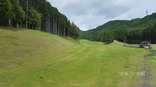 レンブラントゴルフ倶楽部御殿場の駿河コース3番ホールのレディースティ
