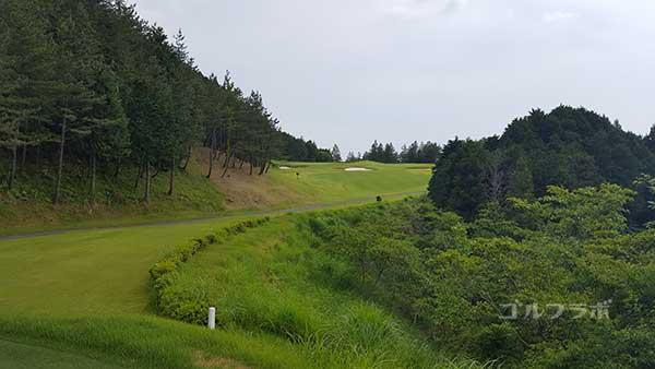 レンブラントゴルフ倶楽部御殿場の駿河コース6番ホールのレディースティ