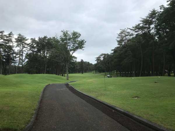 太平洋クラブ益PGAコースの1番ホール