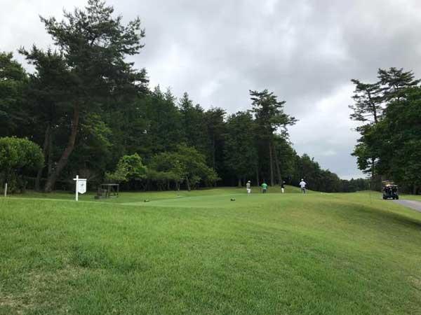 太平洋クラブ益子PGAコースの10番ホール