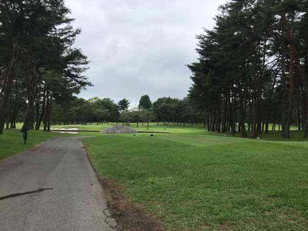 太平洋クラブ益子PGAコースの14番ホール