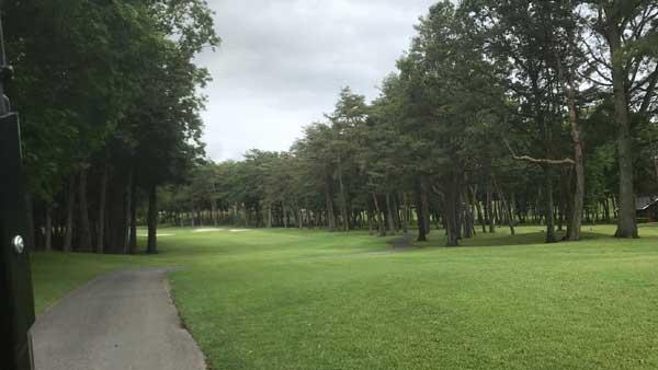 太平洋クラブ益子PGAコースの7番ホール
