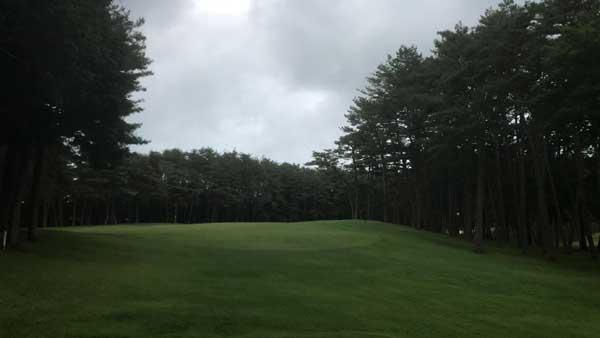 太平洋クラブ益子PGAコースの8番ホール