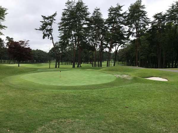 太平洋クラブ益PGAコースの練習場