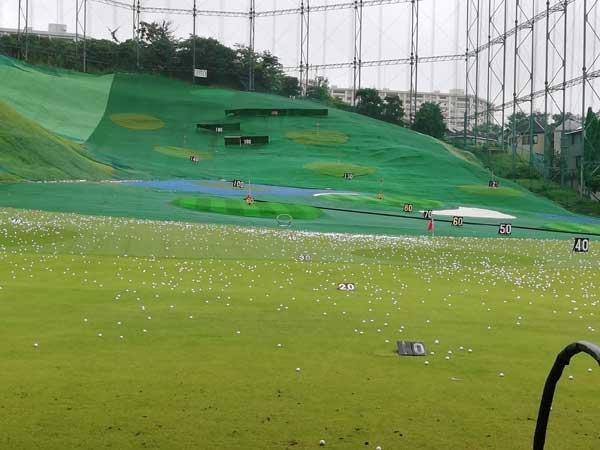 永田台ゴルフの距離