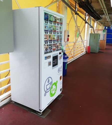永田台ゴルフの自動販売機