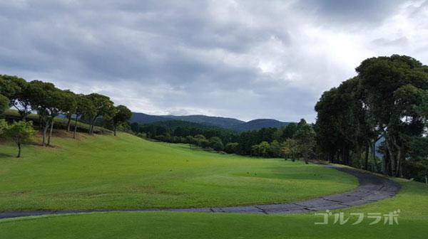 凾南ゴルフ倶楽部の12番ホールのティーグラウンド