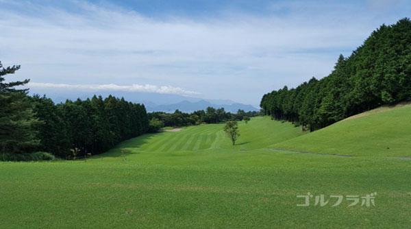 凾南ゴルフ倶楽部の15番ホールのティーグラウンド