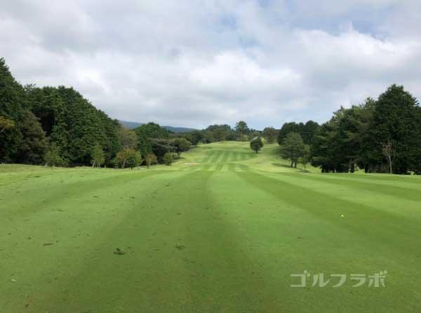 凾南ゴルフ倶楽部の6番ホールの2打目