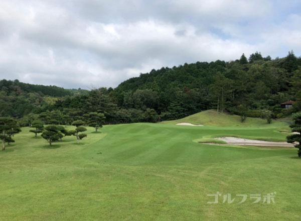 凾南ゴルフ倶楽部の7番ホールのグリーン