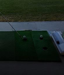 杉田ゴルフ場の打席