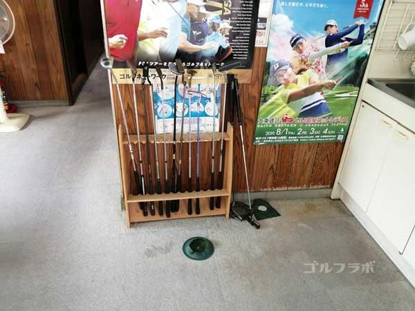 東堀切ゴルフクラブのパター