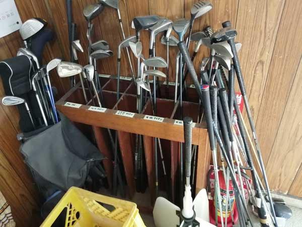 東堀切ゴルフクラブのレンタルクラブ
