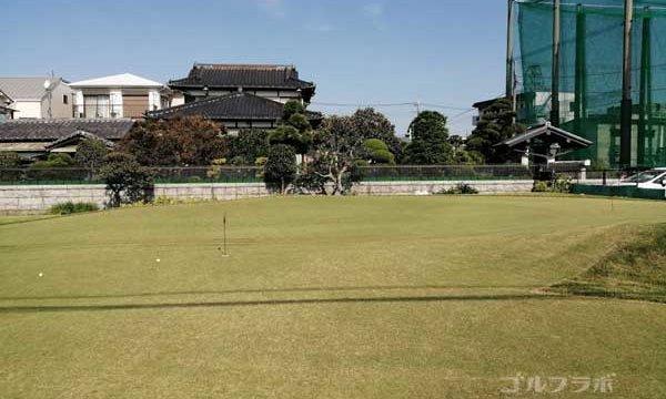 東堀切ゴルフセンターのグリーン