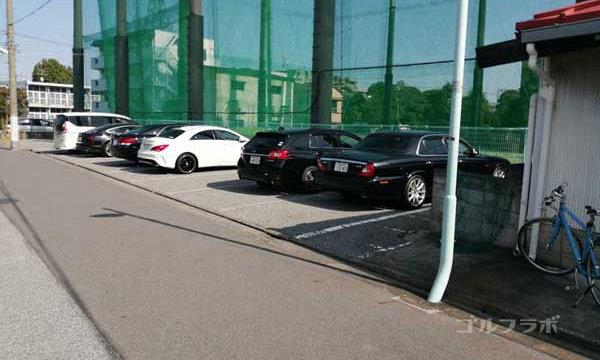 東堀切ゴルフクラブの駐車場