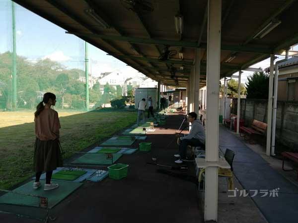 水元ゴルフクラブの練習風景