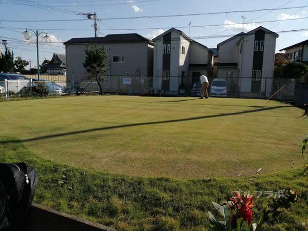 水元ゴルフクラブのグリーン